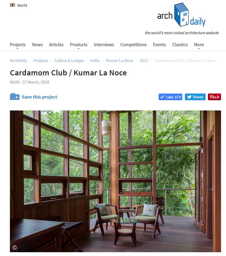 Cardamom Club_Archdaily