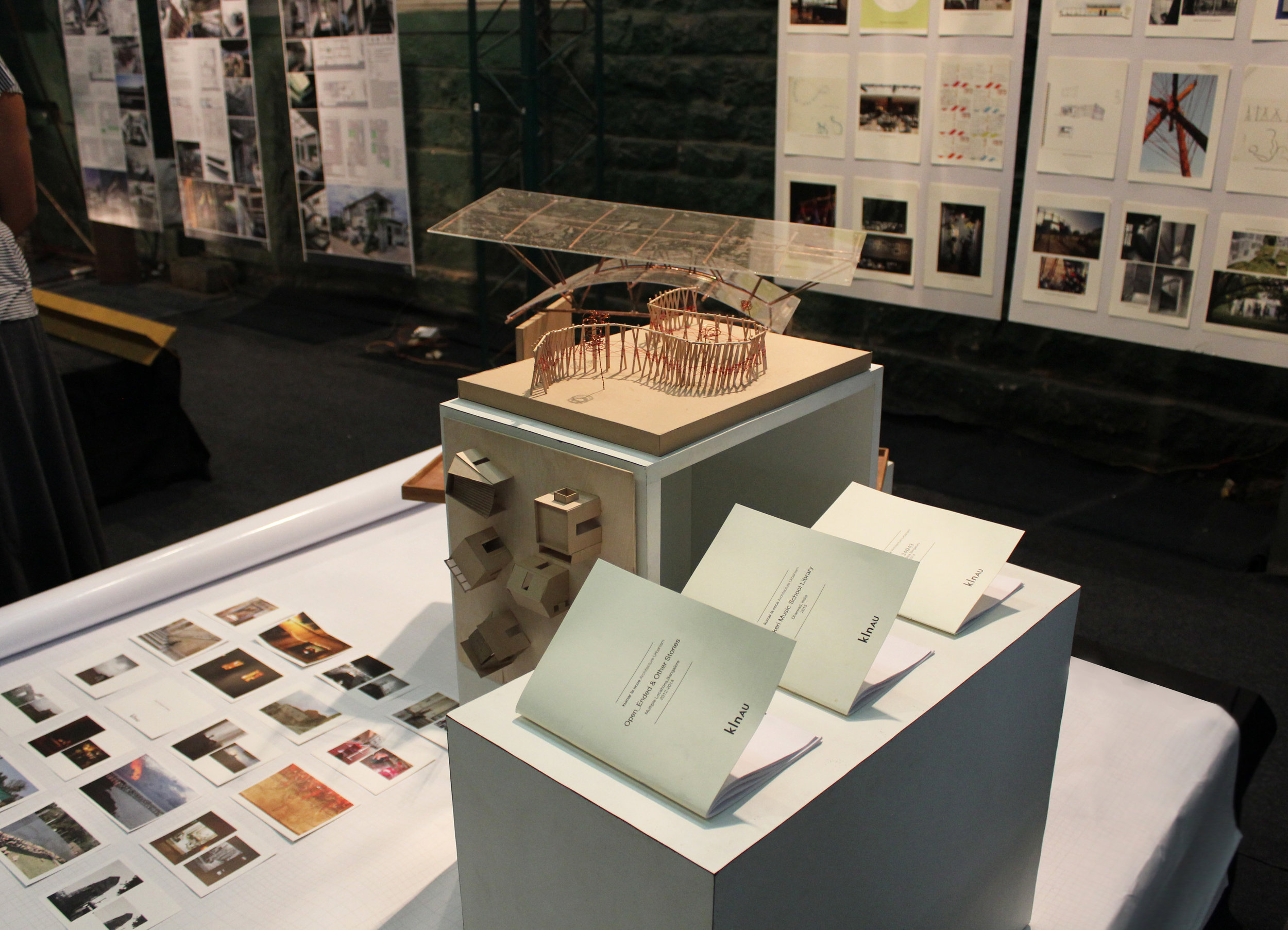 KLN at Praxis Exhibition curated by the Indian Institute of Architects, Bengaluru, Feb 2016