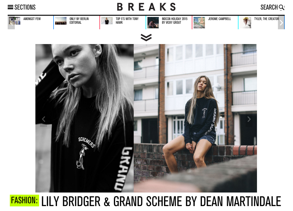 BREAKS MAGAZINE  - Grand Scheme