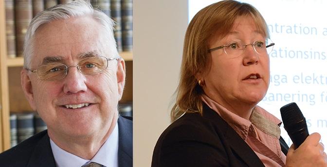 Mats Emthén och Annina Persson