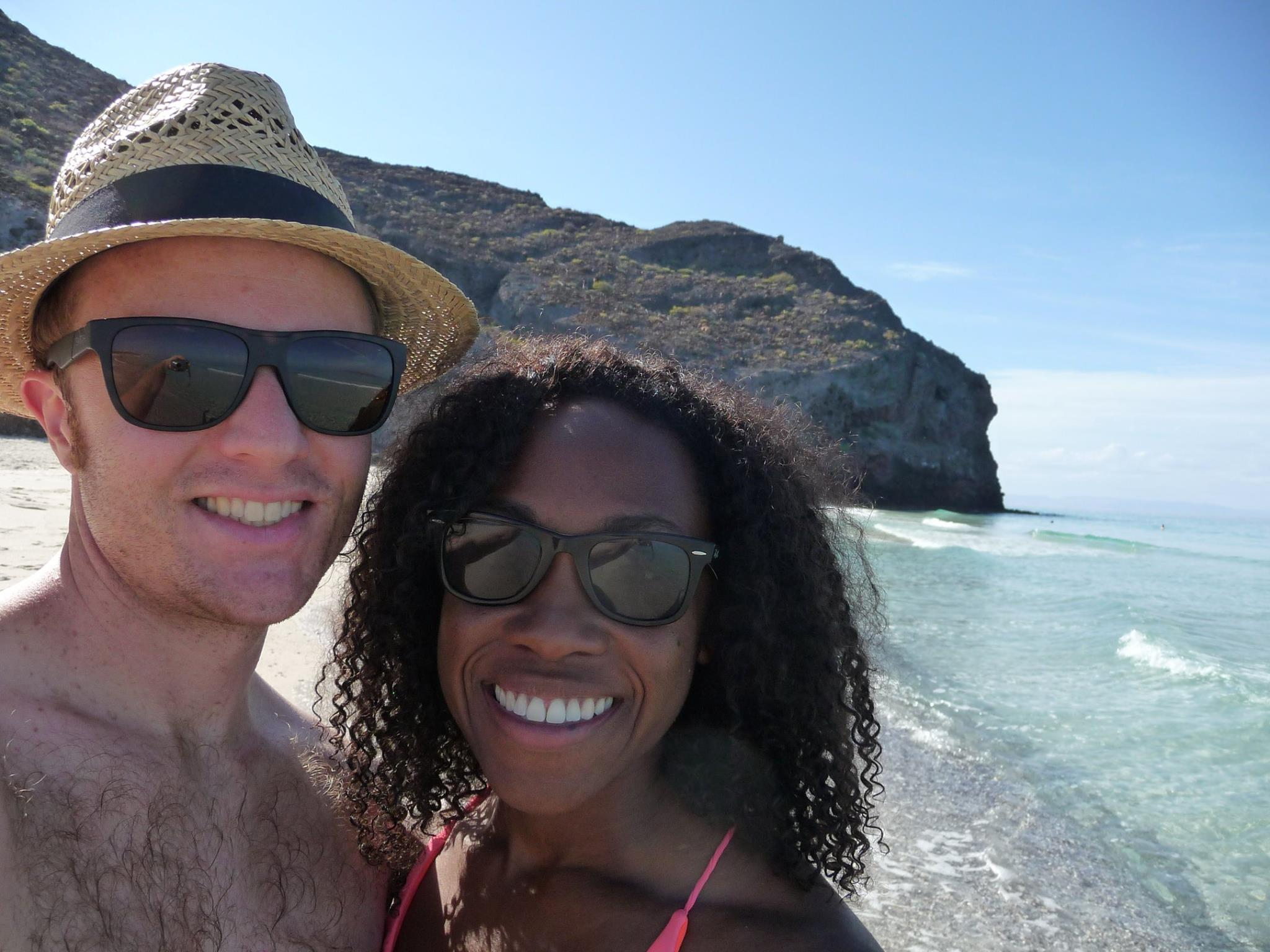 Me and Nick on vacation in La Paz, Mexico.