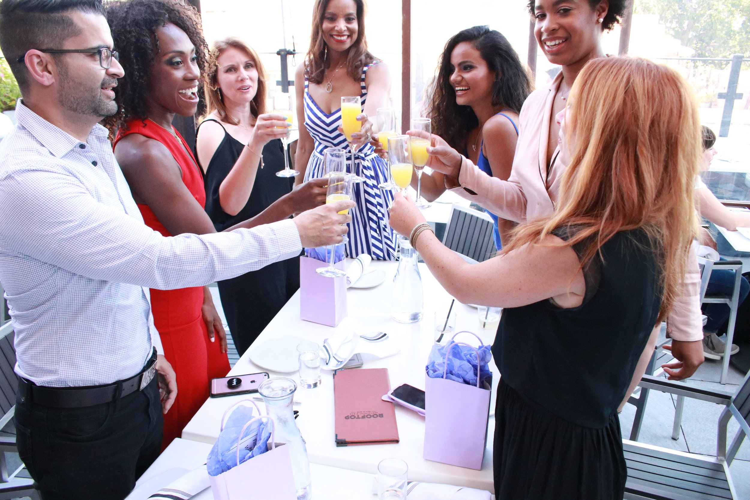 Money & Mimosas Future of Fashion 2018 event