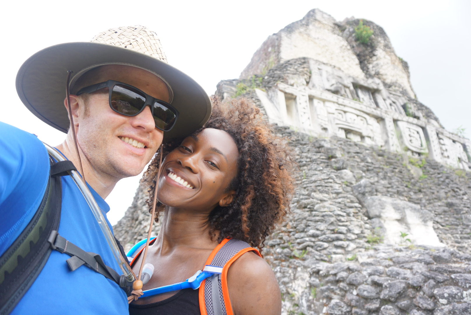 Our next activity was hiking through Mayan temples. Absolutely breathtaking.