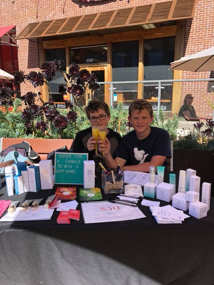 Virgin mimosas for young boys who are learning the importance of supporting and advocating for women!