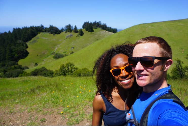 Hiking is also a great workout and an awesome date activity!