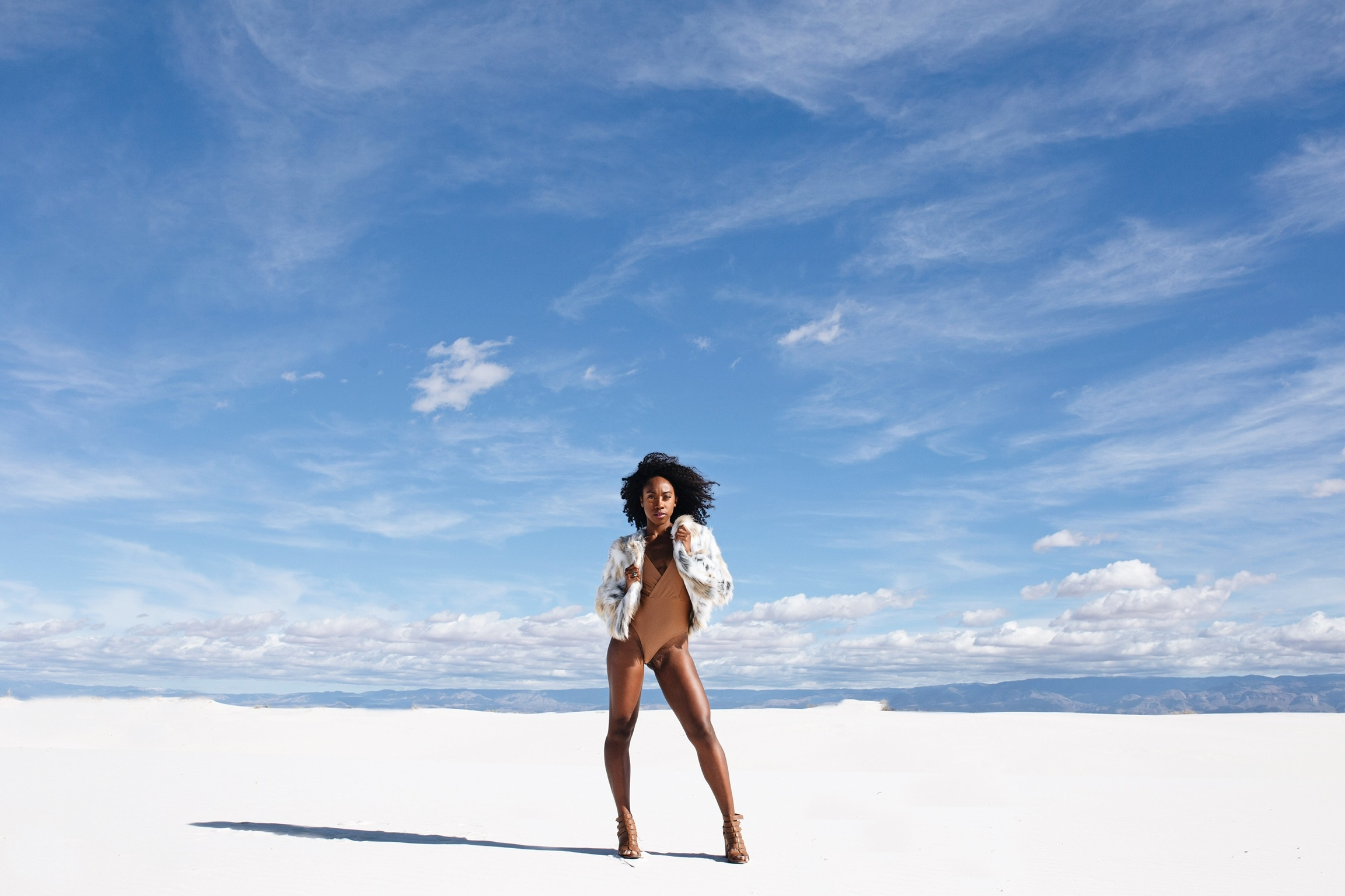 White Sands, New Mexico. Photo credit: Brianna Doe