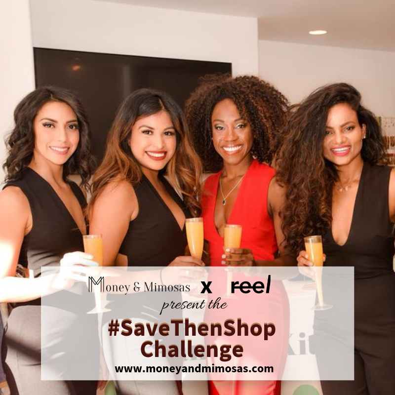 Click the image to join the #SaveThenShop challenge.