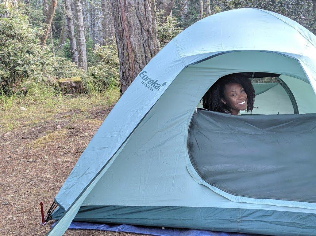 Camping on Money & Mimosas