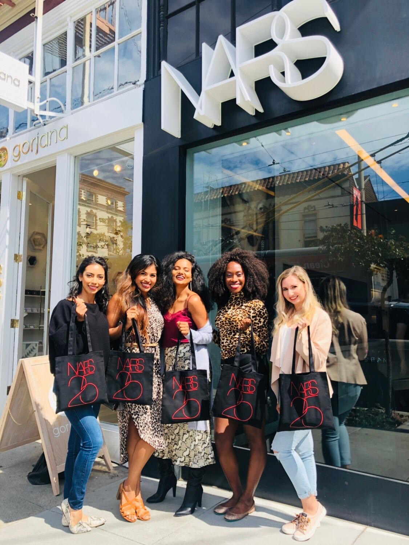 L-R: Alejandra, Maritza, Shalini, Danetha, Lauren