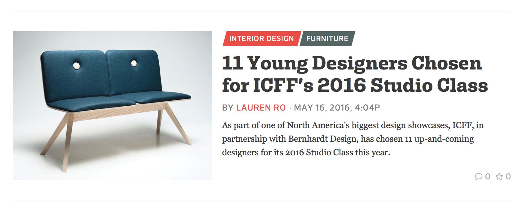 curbed design ICFF