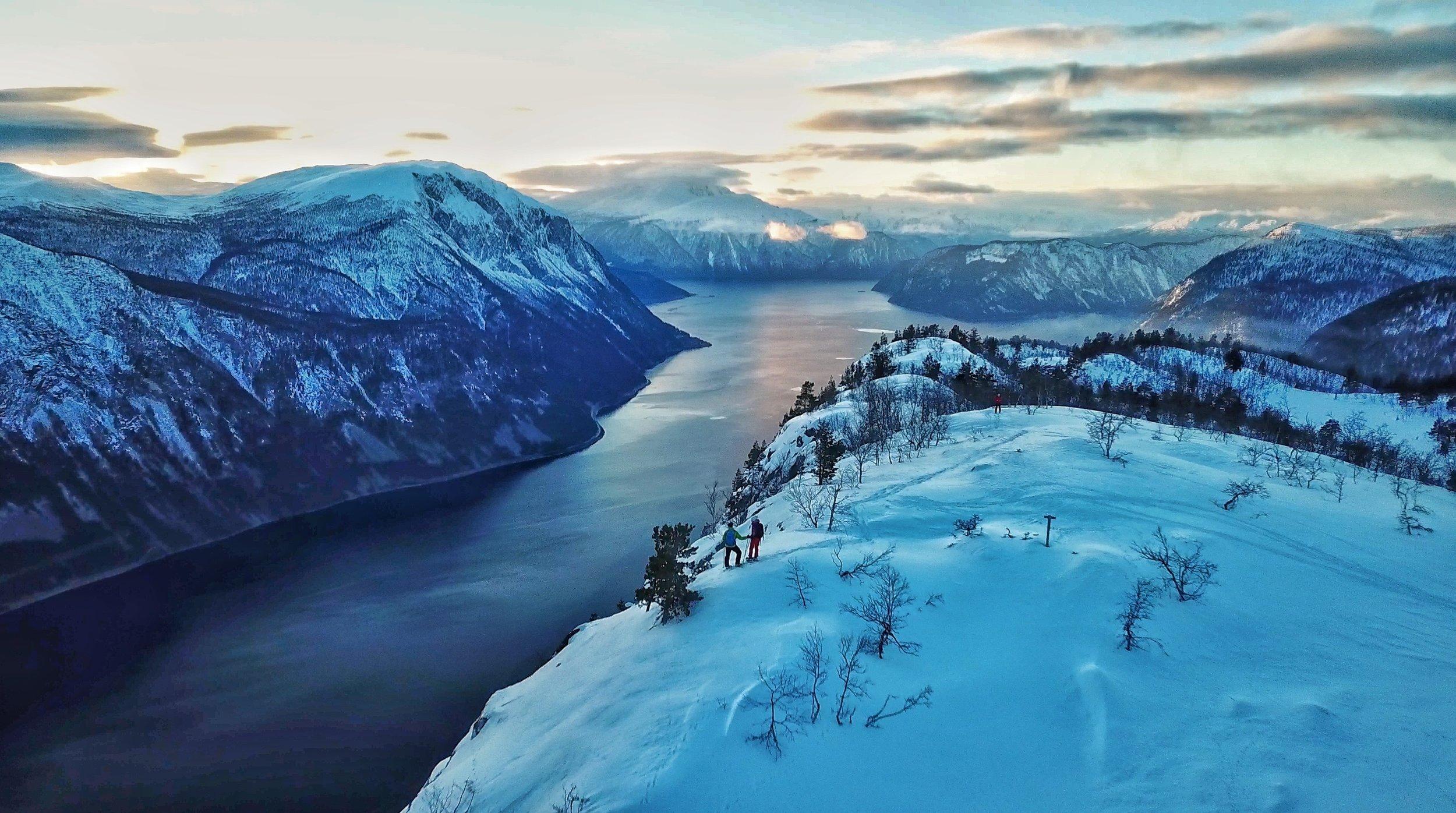 Utsikta frå Paradisjuvet er spektakulær! FOTO: Kristian Lien
