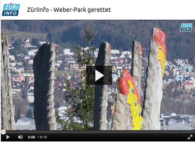 """ZüriInfo-Sendung vom 13.01.2015 mit dem Thema """"Weber-Park gerettet"""""""