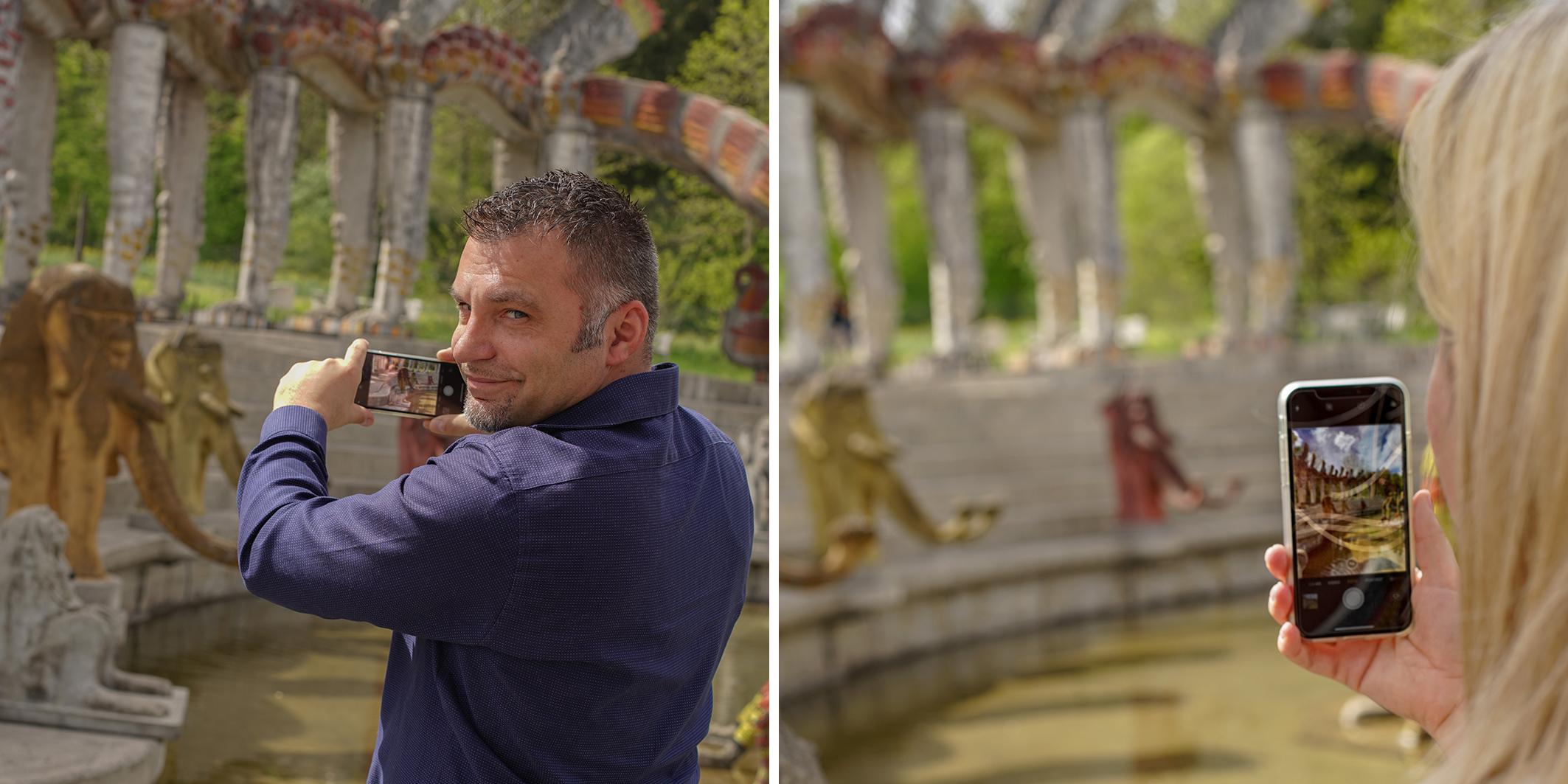 Mit Tipps und Tricks zur besseren Bildgestaltung im praktischen Teil