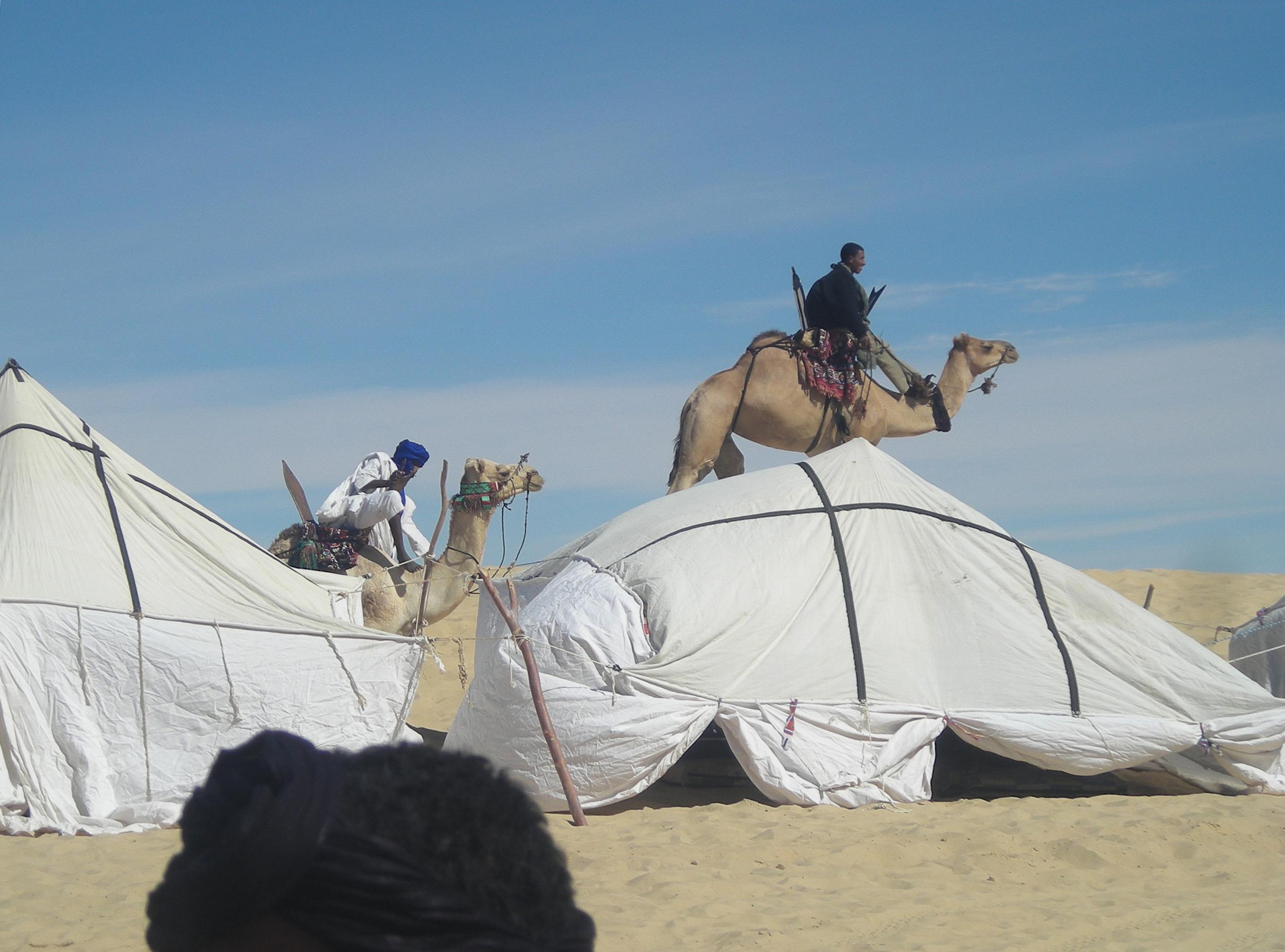 From the desert-festival inTimbuktu, jan 2010.
