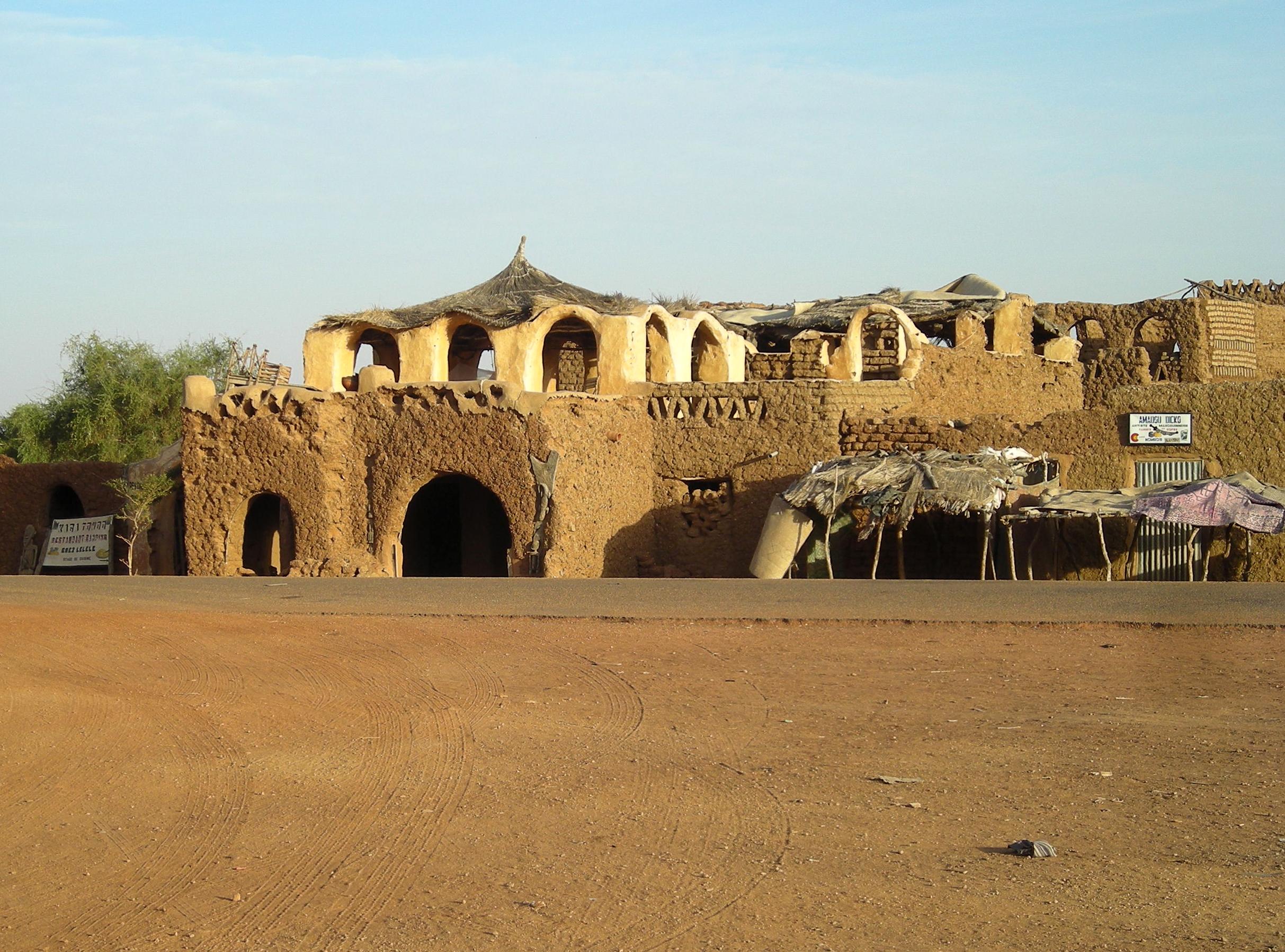 Hombori, Jan 2011.