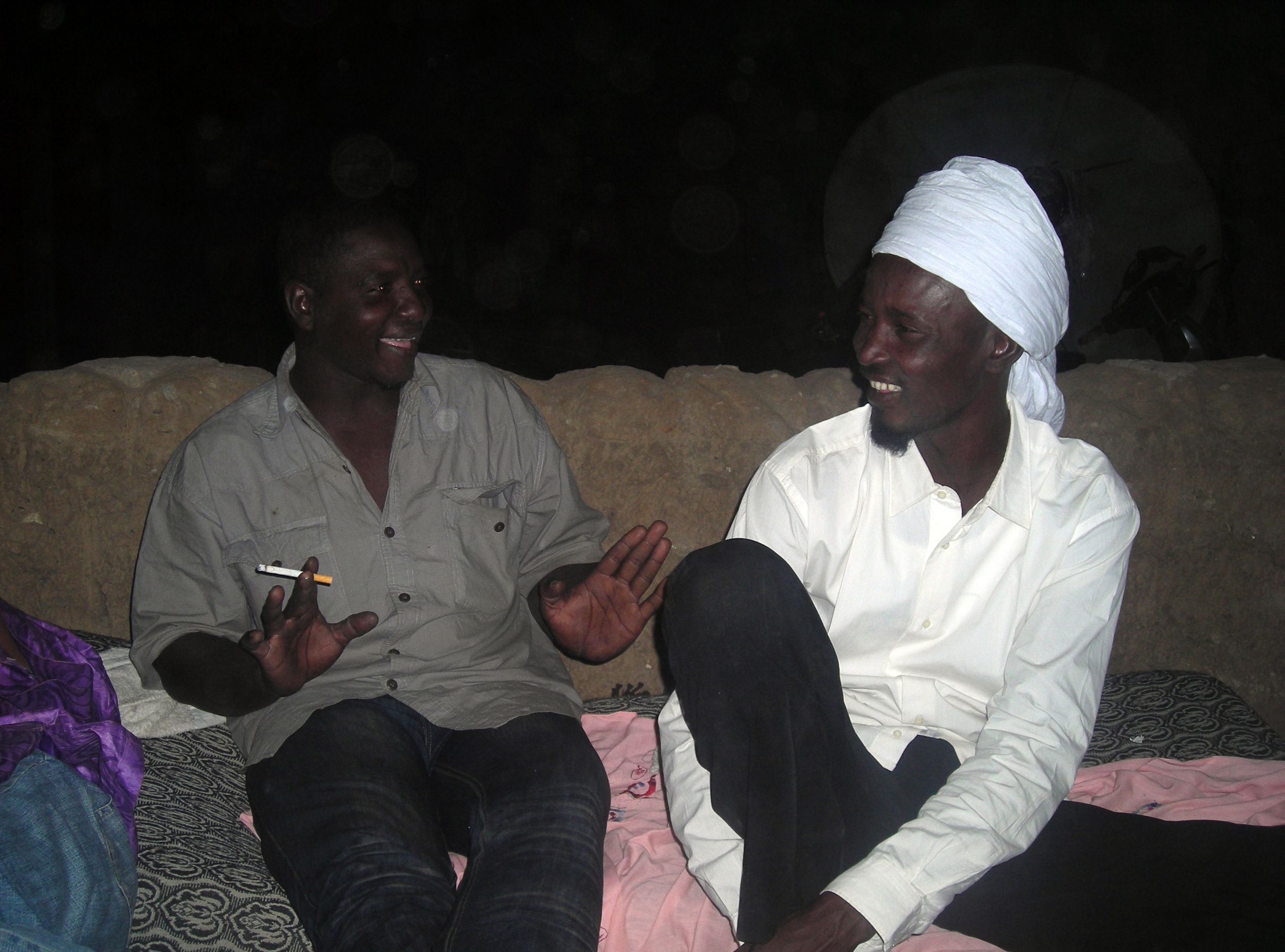 My brothers Ahmed and Tos in Gao, Jan 2010.