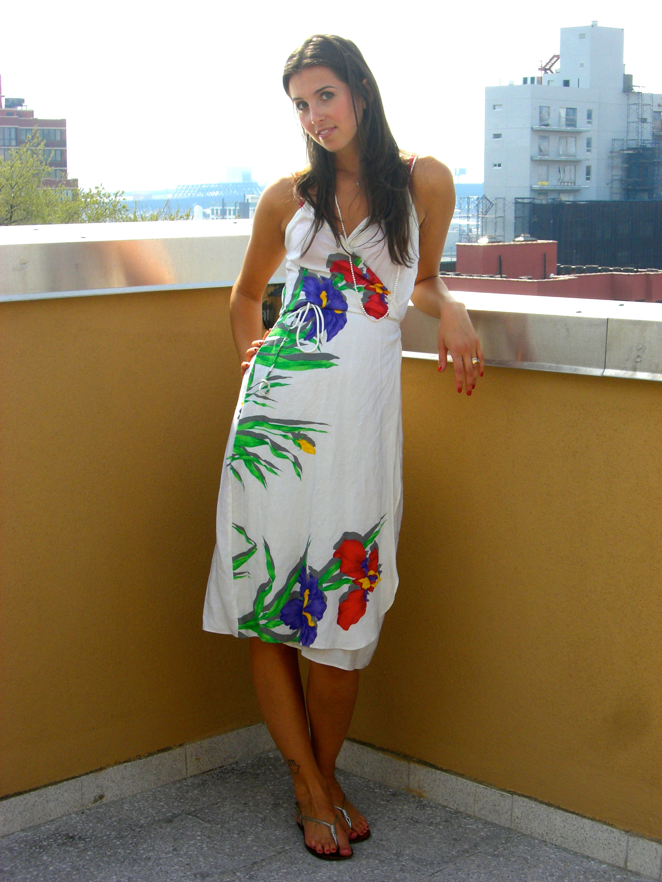 Love Life and Lollipops- Vintage Wrap Dress 1