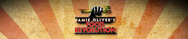 Love Life and Lollipops- Jamie Oliver's Food Revolution Logo