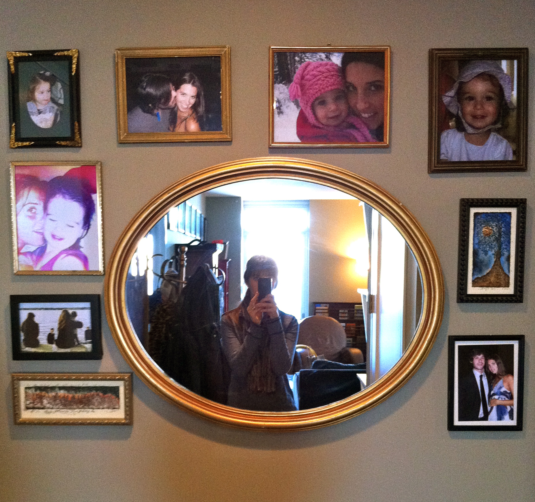 Love Life and Lollipops- Vintage Mirror and Frames