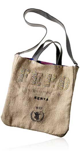 Love Life and Lollipops- Feed 2 Kenya Bag
