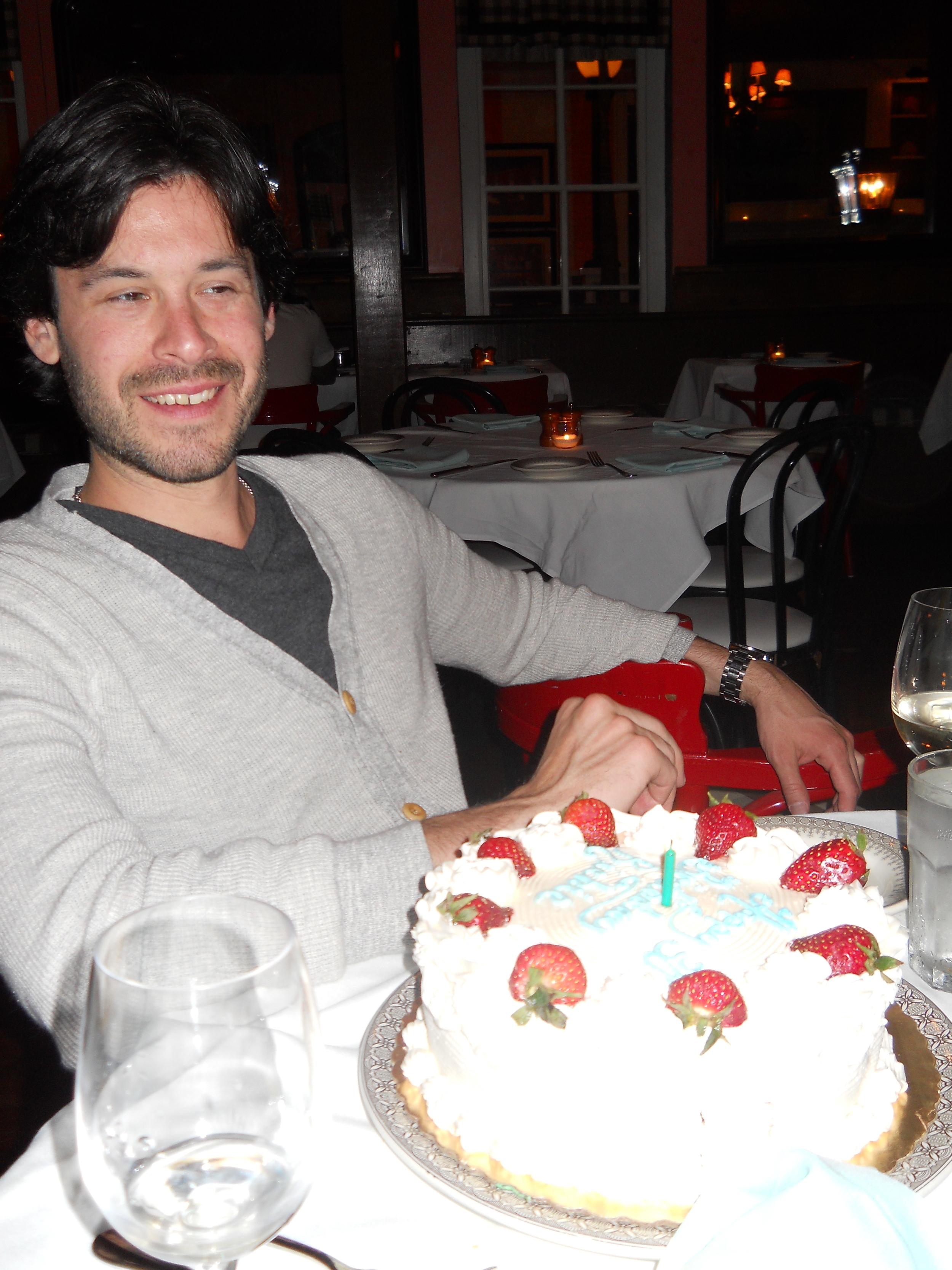 Love Life and Lollipops- Richie's Vegan 30th Birthday Cake