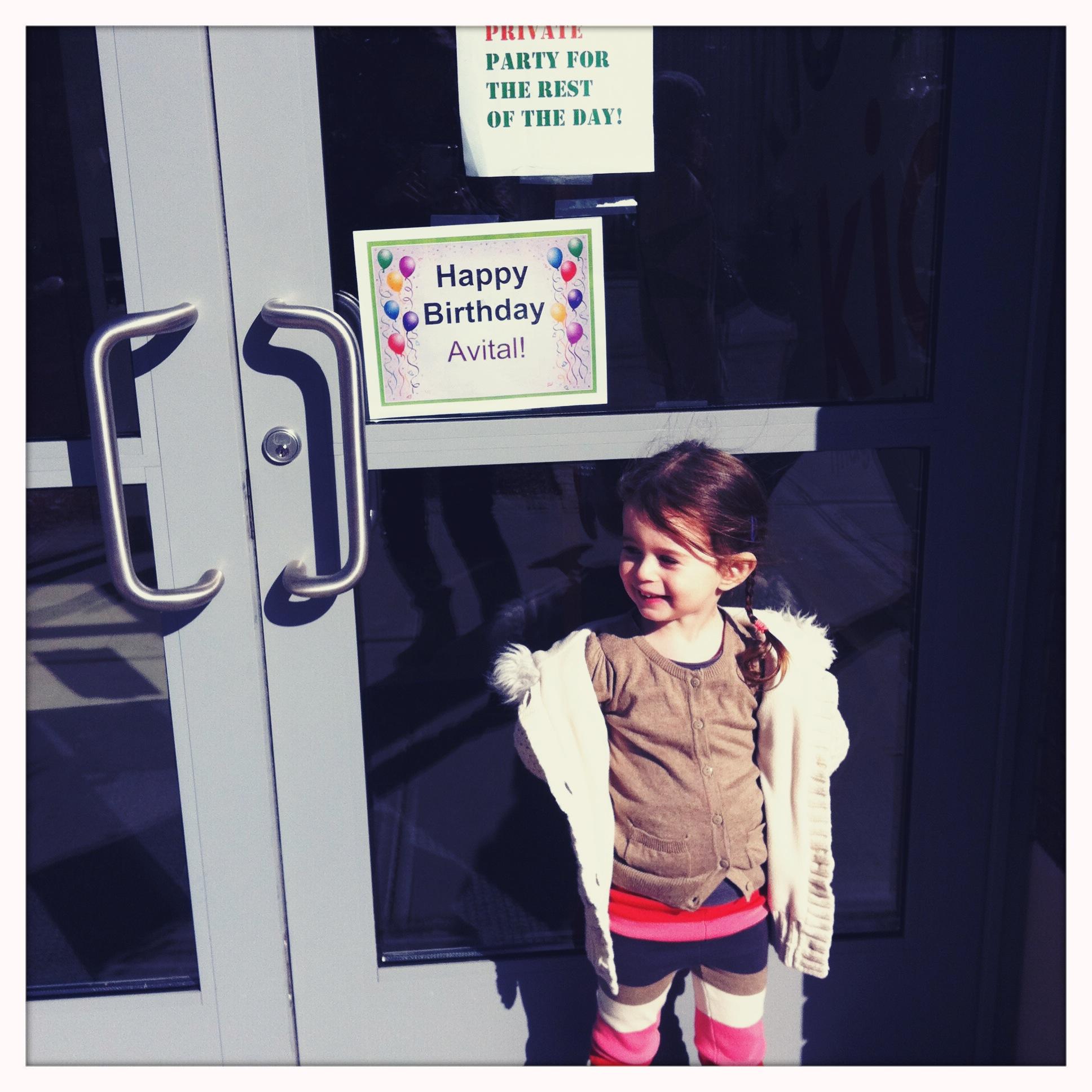 Love Life and Lollipops- Avital's 3rd Birthday