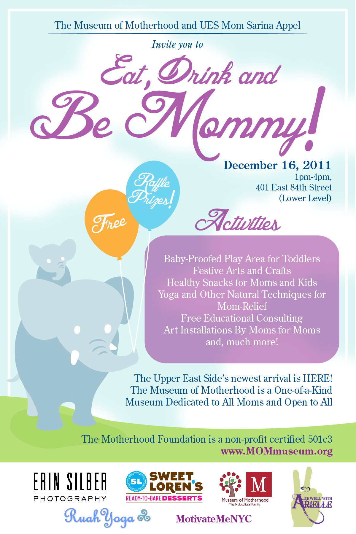 Love Life and Lollipops- Be Mommy Event