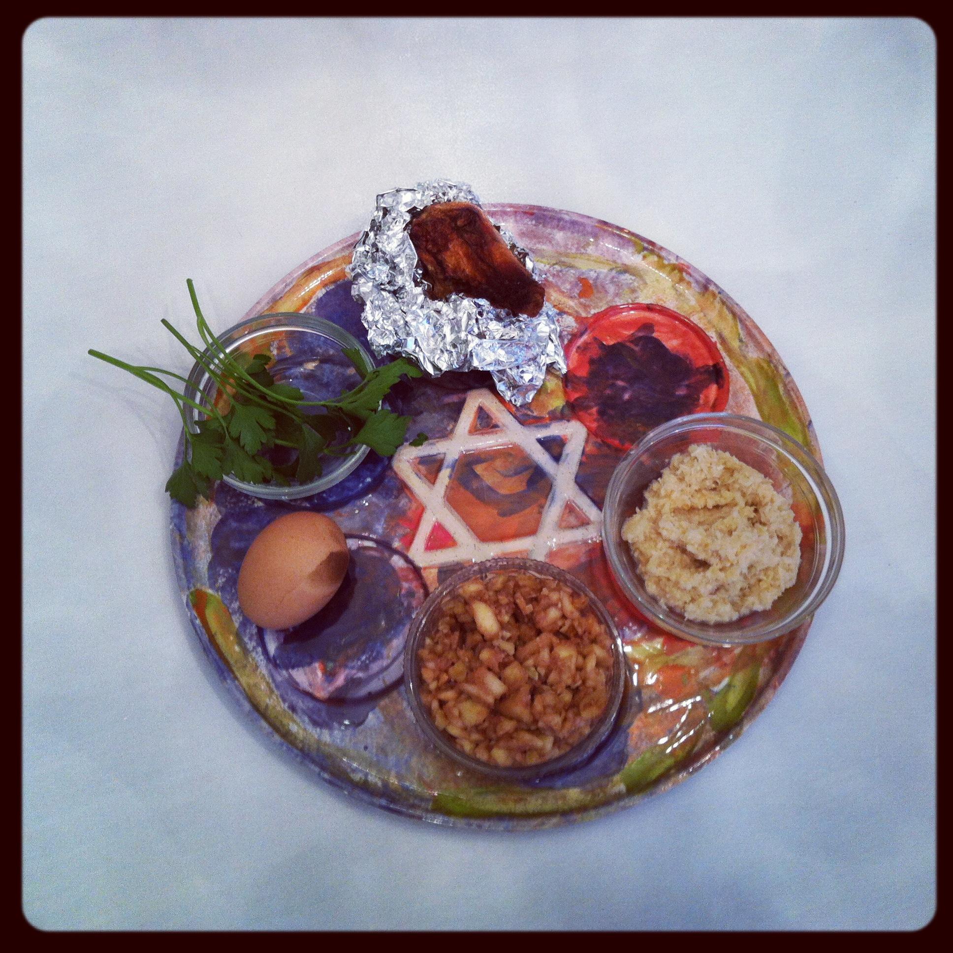 Love Life and Lollipops- Avi's Seder Plate