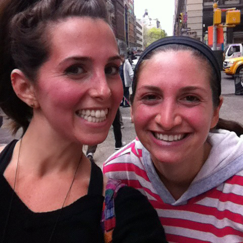 Love Life and Lollipops- Red faced from our Soul Cycle workout...was this red for hours!