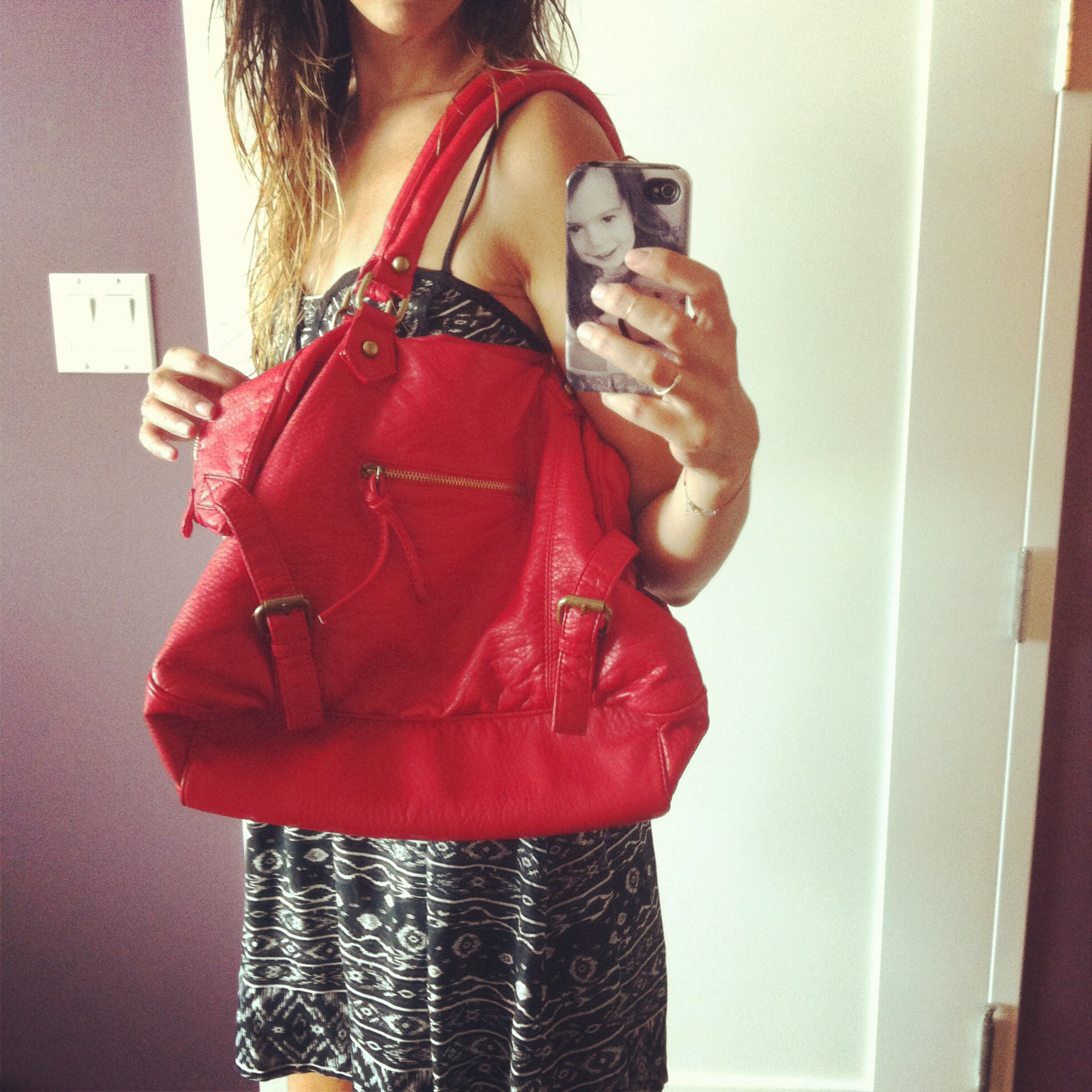 Love Life and Lollipops- Deena & Ozzy vegan leather bag