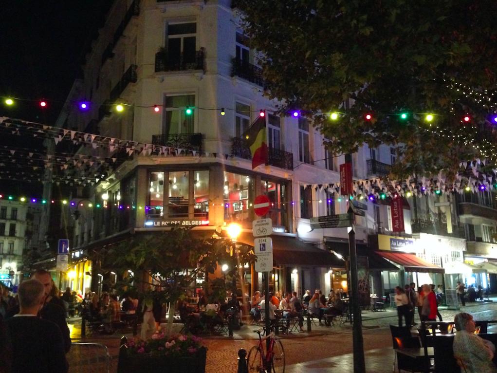 Brüssel bedeutet aber auch: viele Kneipen, viel Bier, tolle Gespräche