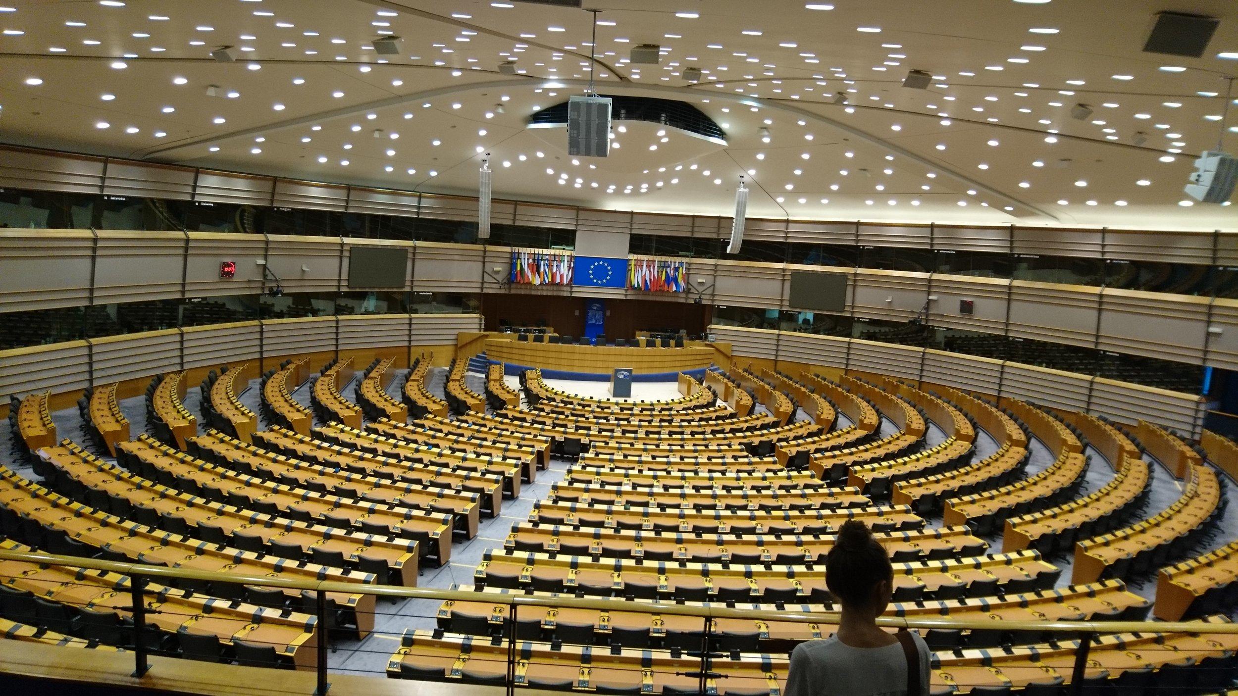Nach dem Brexit wird sich die Zusammensetzung stark verändern: Das EU-Parlament in Brüssel.