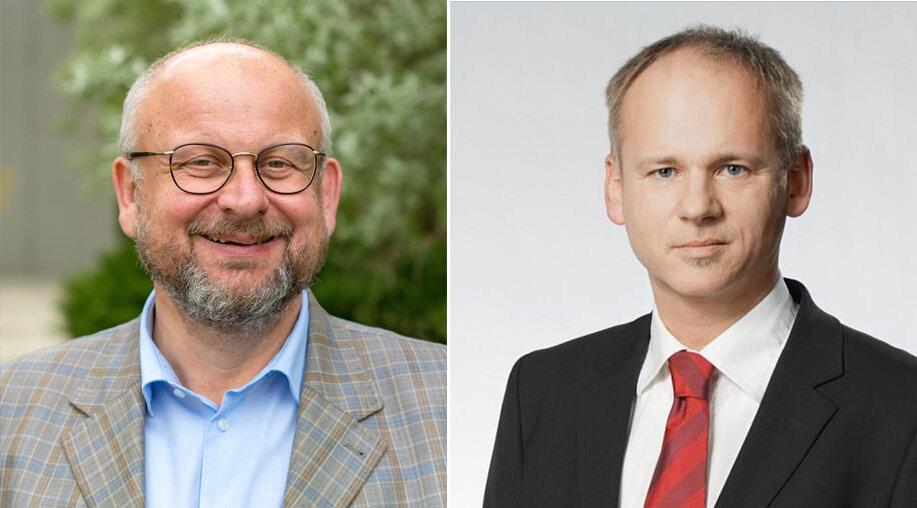 Martin Zimper und Thomas Vogel