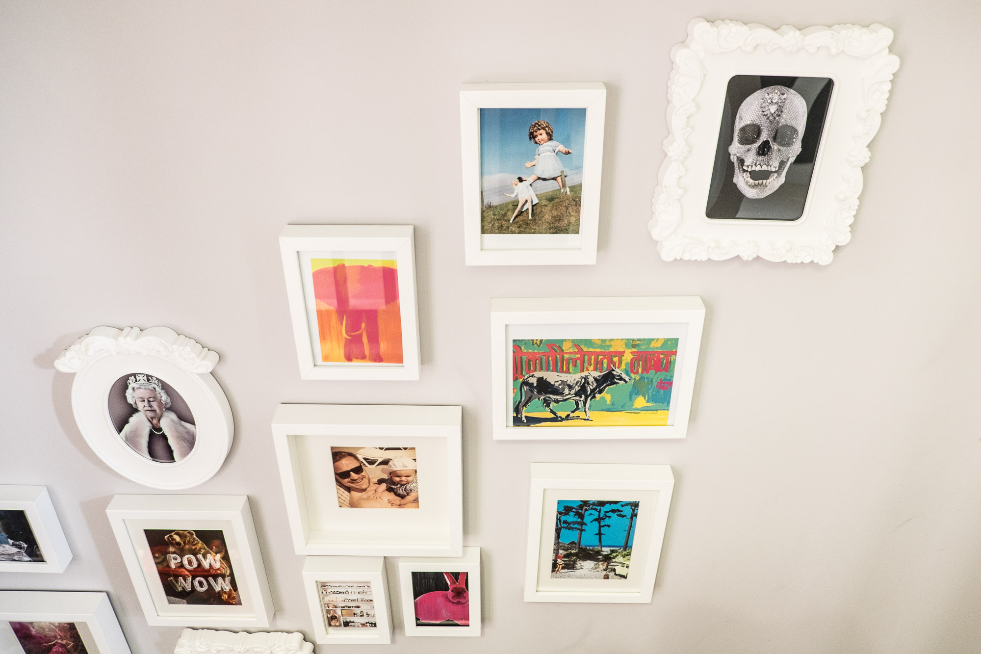 3. Turn your staircase into a gallery