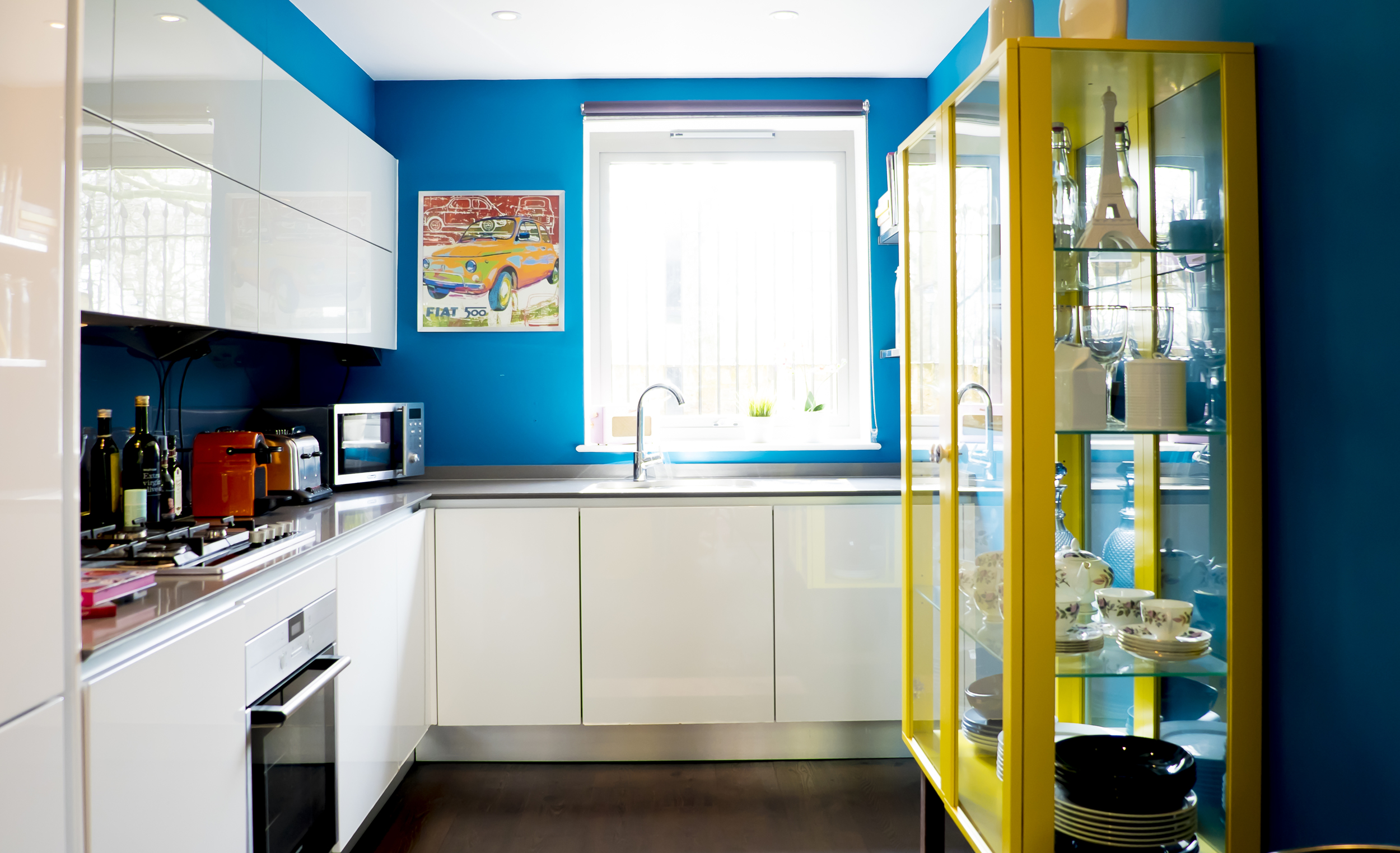 1. Repaint a room in a bold colour