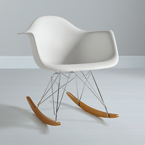 The stylish alternative to the traditional nursing chair, courtesy of Eames...