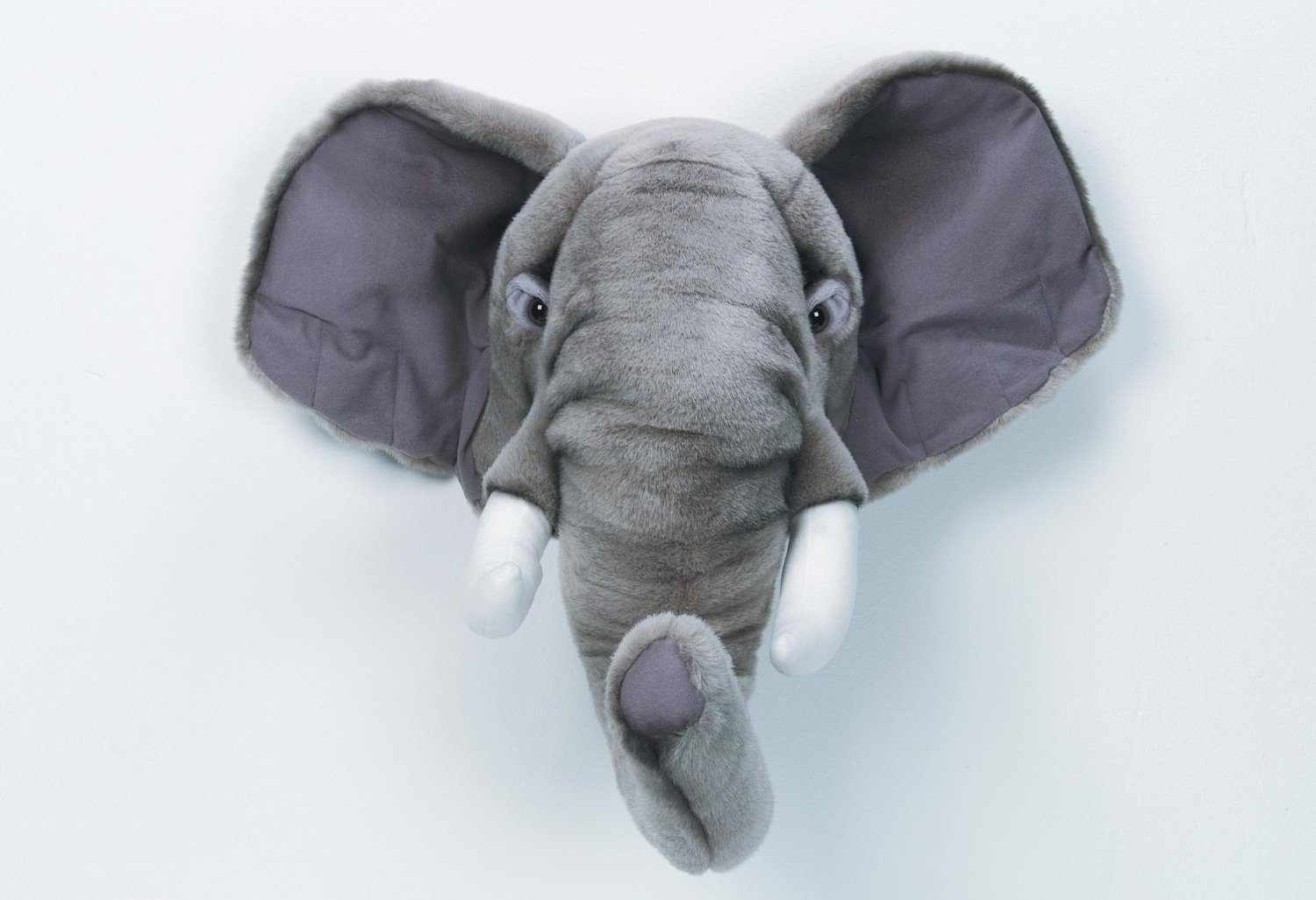 Wall Decoration Soft Toy Elephant's Head from  Bibib .