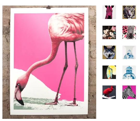 A selection ofAida's fabulous prints available at  Nelly Duff Gallery  - prices start at £100