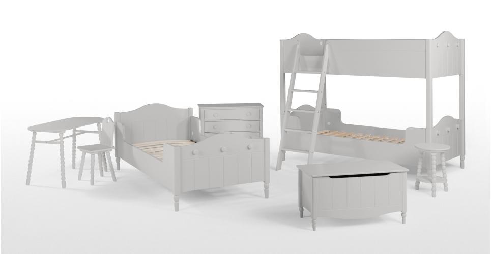 Cara desk, £159 | Cara chair, £69 | Cara night stand, £49