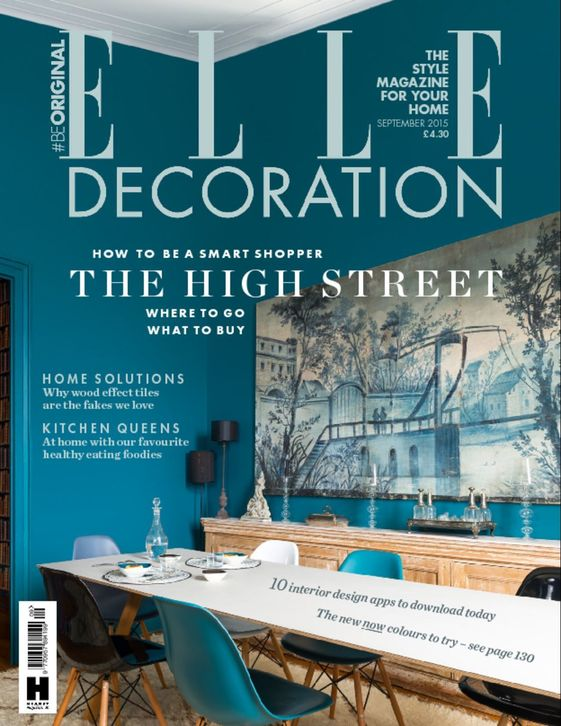 This month's issue of Elle Decoration UK celebrates the British High Street.