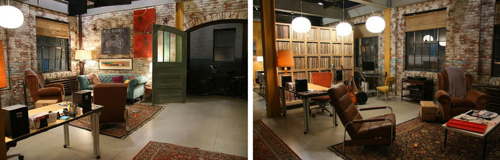 The Brooklyn loft used to shoot Gossip Girl, full of stunning industrial features... [Source: Gossip Girl Wikia ]