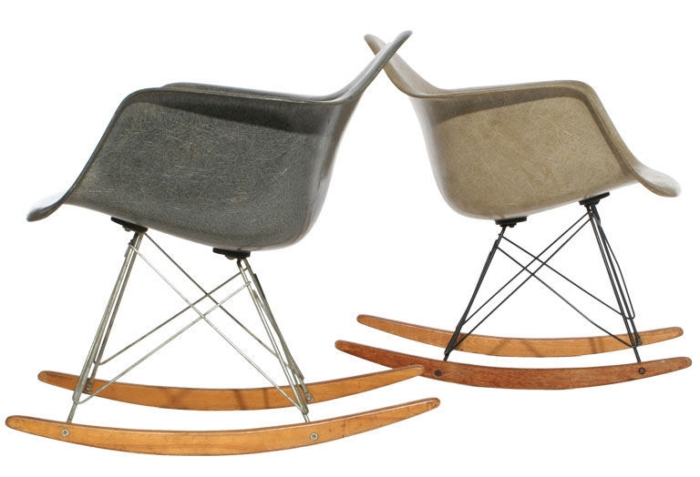 The iconic rocker designed by Charles and Ray Eames (Source:  www.1stdibs.com )