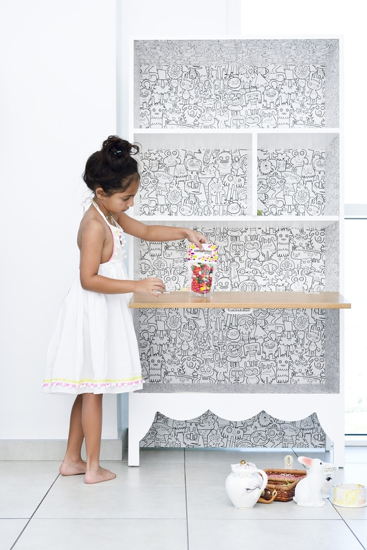 The  Colour Me Crazy bookshelf  is so much fun we want to get our crayons out, like, immediately...