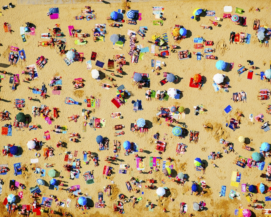 If you like Gray Malin's aerial photography, you will LOVE  Tommy Clarke 's work including this shot, called St Tropez...