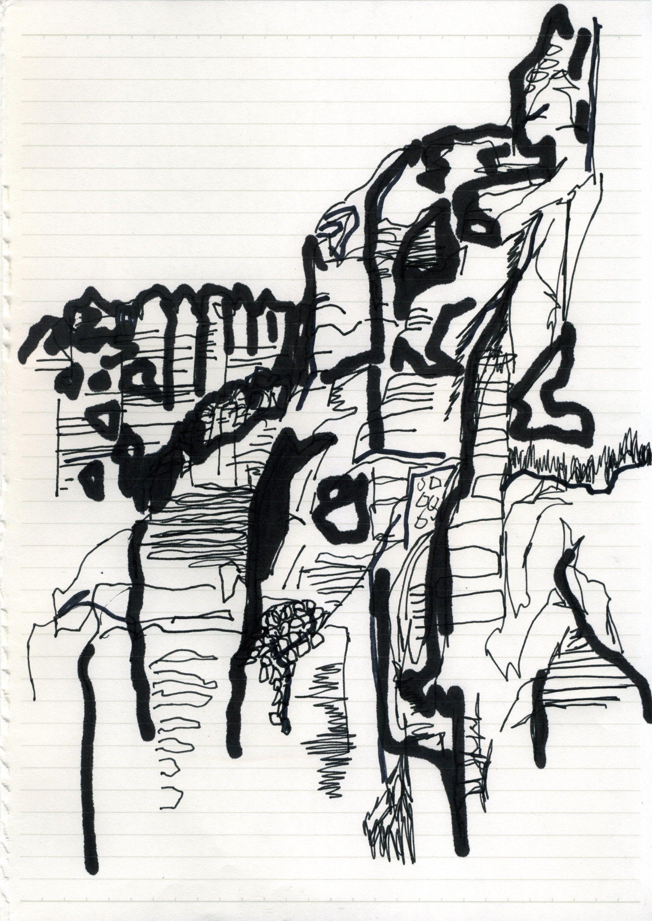 Karakorum Drawing