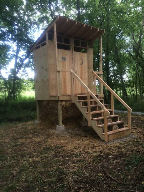 The amenities station that will be installed next to the Art Barn at Better Farm.
