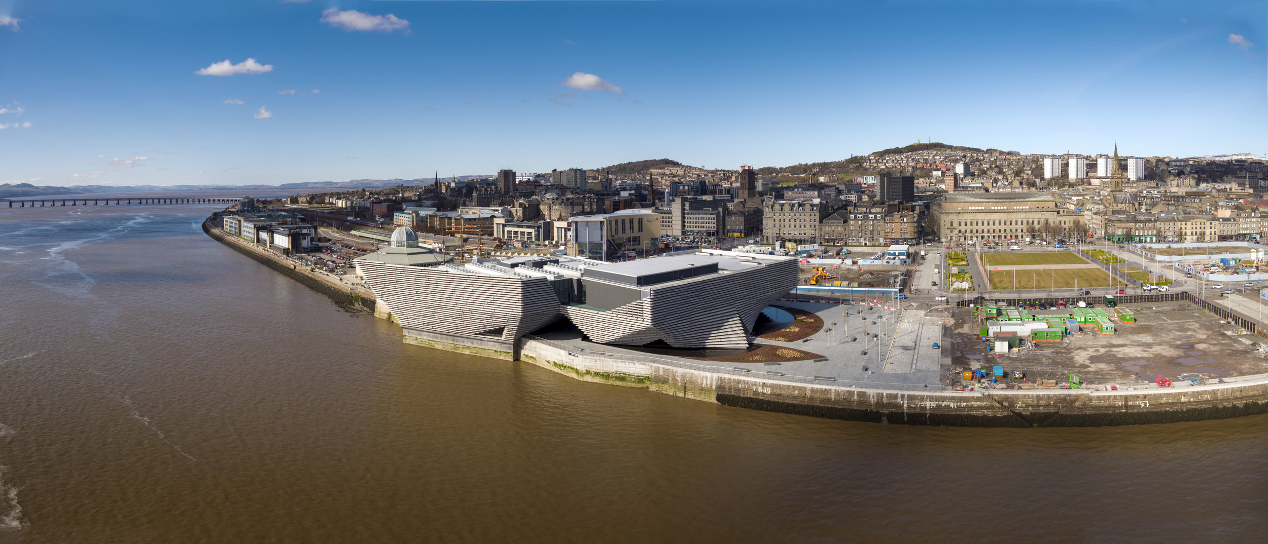Dundee V&A Museum and Waterfront Construction