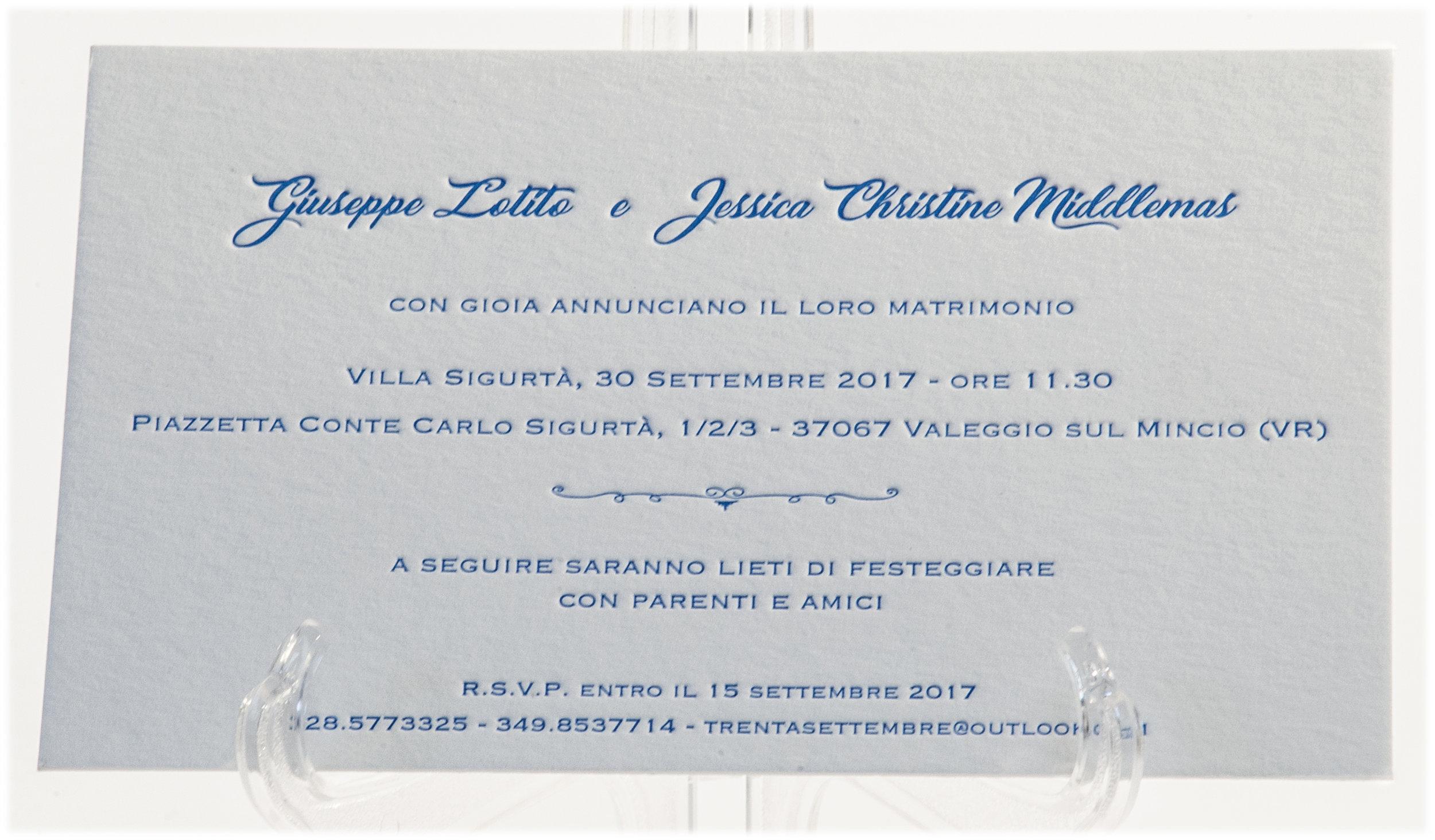 Carta Cordenons Wild 450 gr, stampa Letterpress a 1 colore