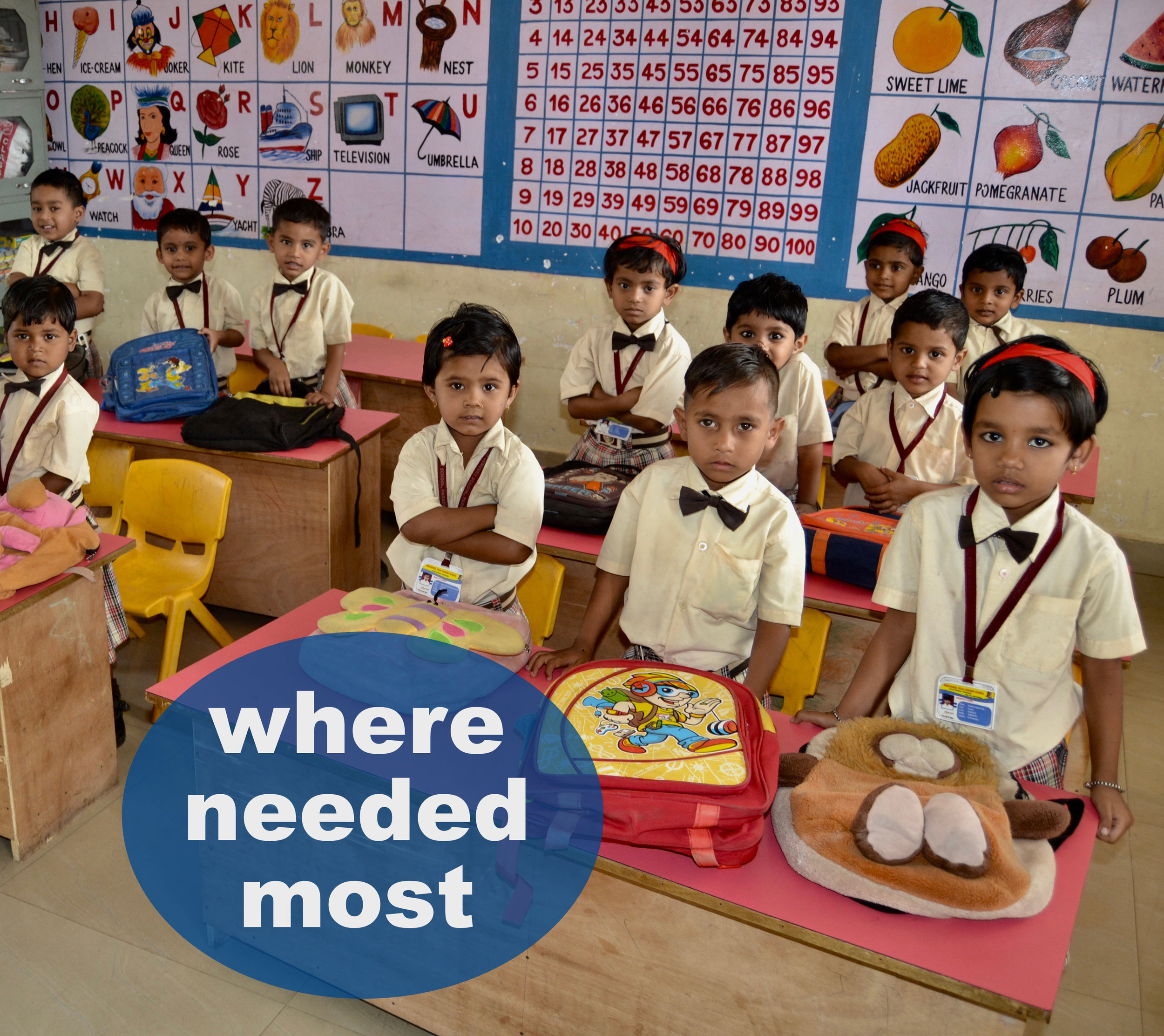 Give Where it's Needed Most - It feels great knowing that, when you give a gift, you're making a lasting difference in the lives of children. Just click on the photo and give where your gift is most needed.