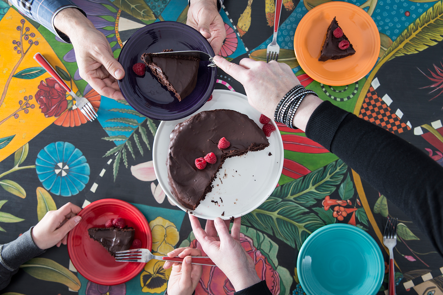 Have your cake and eat it too.